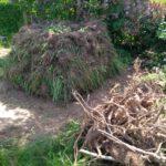 Hochbeet aus Grasnarbe