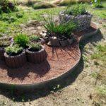 Steingarten für Zauneidechsen und Insekten